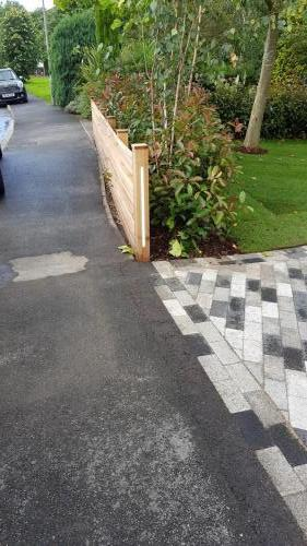 block paving groundworks landscaping driveway