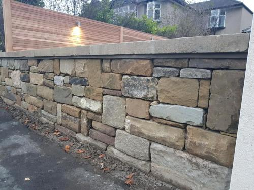 landscaping dry stone walling stone wall