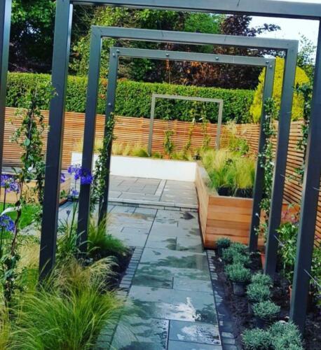 Landscaping Paving planting garden design